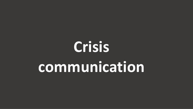 Crisis communication Are we ready for a corporate earthquake