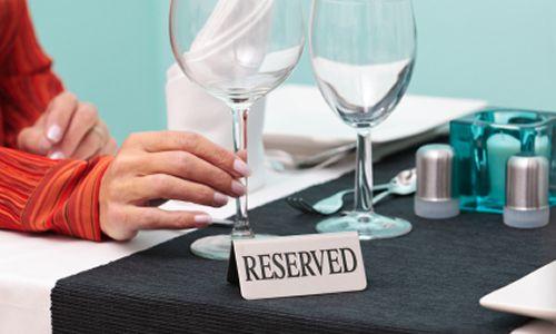 Online restaurant reservations grow 120%