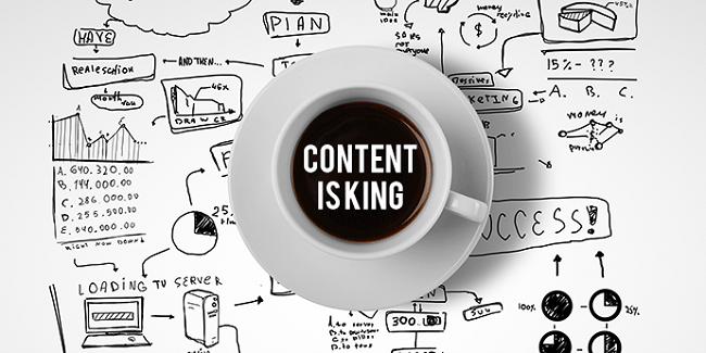 Content Marketing, The King's Empire
